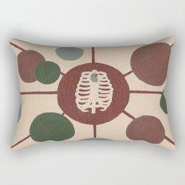 Cage of Hearts Rectangular Pillow