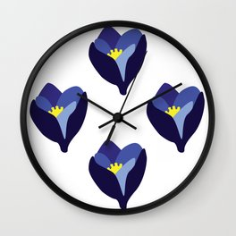 Krokus Wall Clock