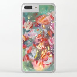 ROSES #2 Clear iPhone Case
