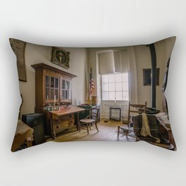 General Grant's office in Springfield Illinois Rectangular Pillow