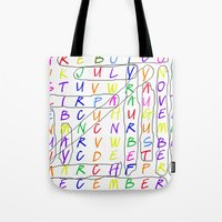 calendar 2015 Tote Bags featuring Calendar Fun by Rissarae Designs