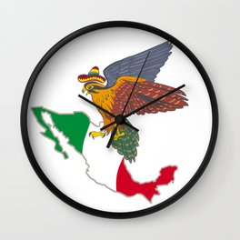 Welcome to Mexico Wall Clock