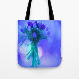 A Blue Bloom for Spring Tote Bag