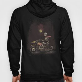 Death Rides in the Night Hoody