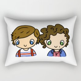 What Makes Larry Beautiful Rectangular Pillow