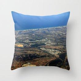 Surfer's Paradise (Gold Coast) Australia Throw Pillow