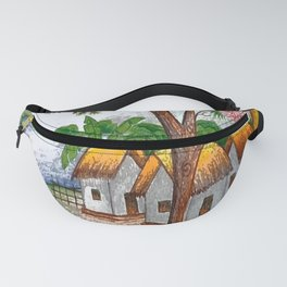Collection of real kids drawings, arts created by children. No 03 Fanny Pack