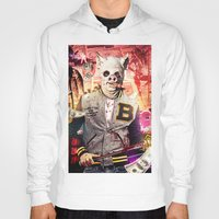 hotline miami Hoodies featuring Night Out: Hotline Miami by GiancarloVargas