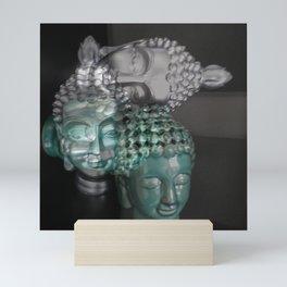 Scattered Buddhas Mini Art Print