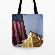 Cornice with flag Tote Bag