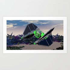 Empire  of  Ruin Art Print