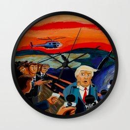 The Donald Scream Wall Clock