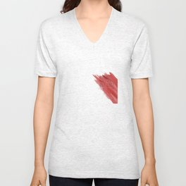 quote: find A beautiful place and get lost Unisex V-Neck