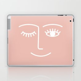 Wink / Pink Laptop & iPad Skin