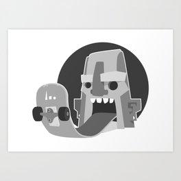 BoardTalk Art Print