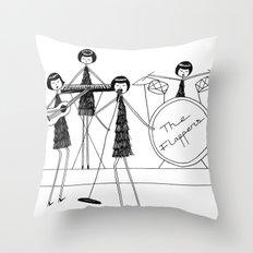 Flapper Band Throw Pillow