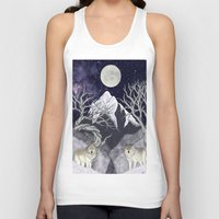 guardians Tank Tops featuring Guardians by Yoly B. / Faythsrequiem