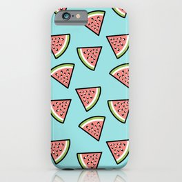 Watermelon summer time iPhone Case