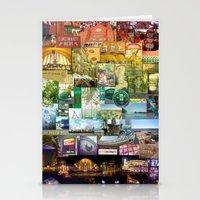 cincinnati Stationery Cards featuring Cincinnati Spectrum by Stacey Cat
