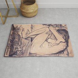 Vincent van Gogh - Sorrow (1882) Rug