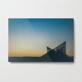 Chattanooga Sunset Metal Print
