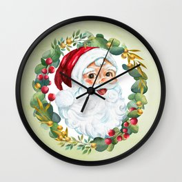 Santa Ole Wall Clock