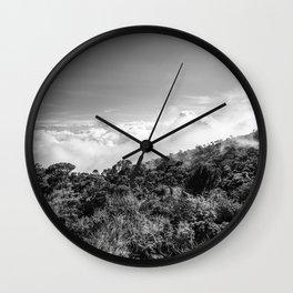 Foggy days Wall Clock