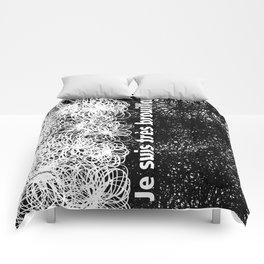 Je suis très brouillon Comforters