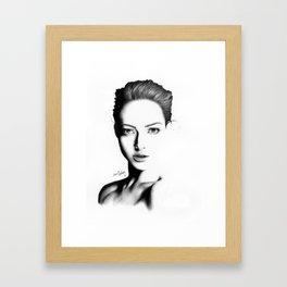 Portrait I Framed Art Print
