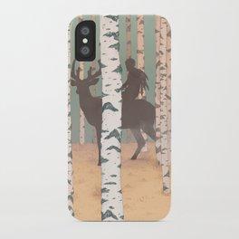 Fantasy print, Folk art print, original artwork , Giclee art print , A4 print iPhone Case