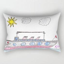 Ice-Breaker Ship Rectangular Pillow
