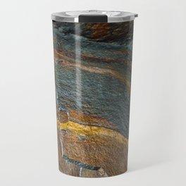 Abstract rock art Travel Mug