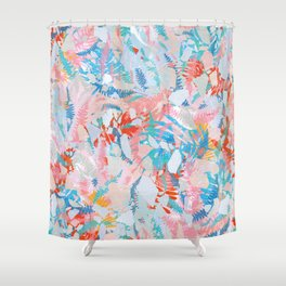 Abstract Tropicals III. Shower Curtain