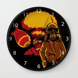 Nuclear explosion Wall Clock