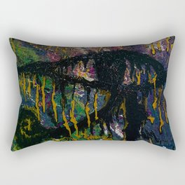 """EYE OF GODS"" Rectangular Pillow"