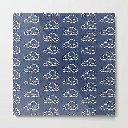clouds pattern Metal Print