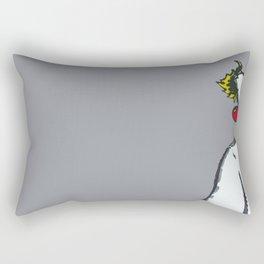For Shame Rectangular Pillow