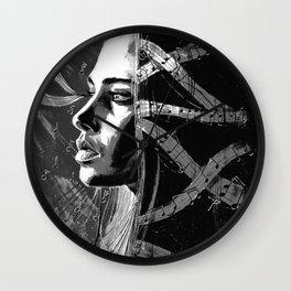 Fiona Apple b&w Wall Clock