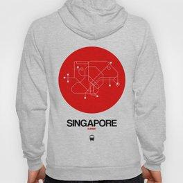 Singapore Red Subway Map Hoody