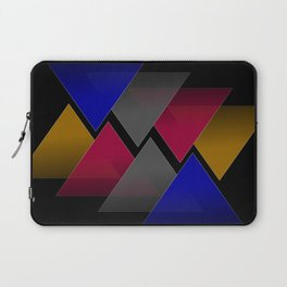 Dark Triangles Laptop Sleeve