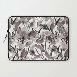 Painted Floral Laptop Sleeve