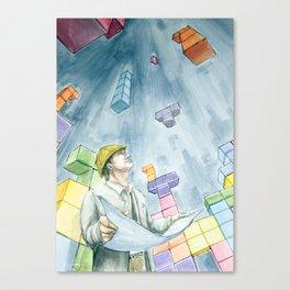 Architetris Canvas Print