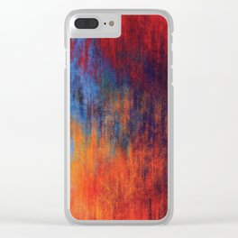 Hell Flame Clear iPhone Case
