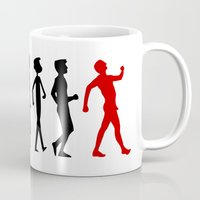 evolution Mugs featuring Evolution by Artbox designs