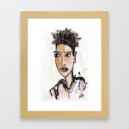Don't like confetti Framed Art Print