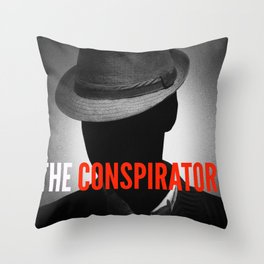 The Conspirators Podcast Show Art Throw Pillow