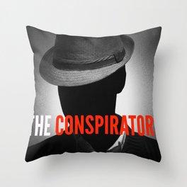 The Conspirators Podcast Show Art Throw Pillow