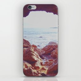 Waiting by the Sea iPhone Skin