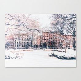 New York City - Winter Canvas Print
