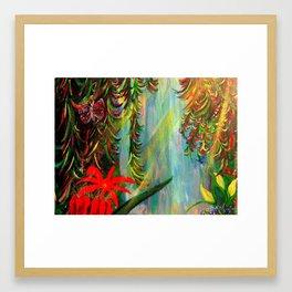 Garden Framed Art Print